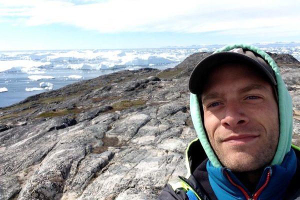 Esteban au Groenland